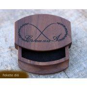 Gyűrűtartó doboz esküvőre - Iris