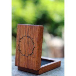Gyűrűtartó doboz eljegyzésre – Darla