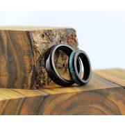 Fa gyűrű-Black Wood