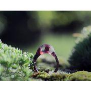 Fa és gyanta gyűrű #45
