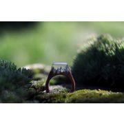 Fa és gyanta gyűrű #49